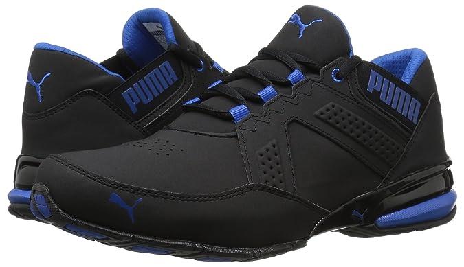PUMA Men's Enzin SL Sneaker, Black Lapis Blue, 8 M US: Buy