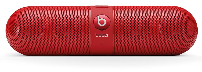 cheap for discount 943a6 c61b3 Beats by Dr. Dre Pill Haut Parleur Sans Fil Bluetooth - Rouge  Amazon.fr   Audio   HiFi