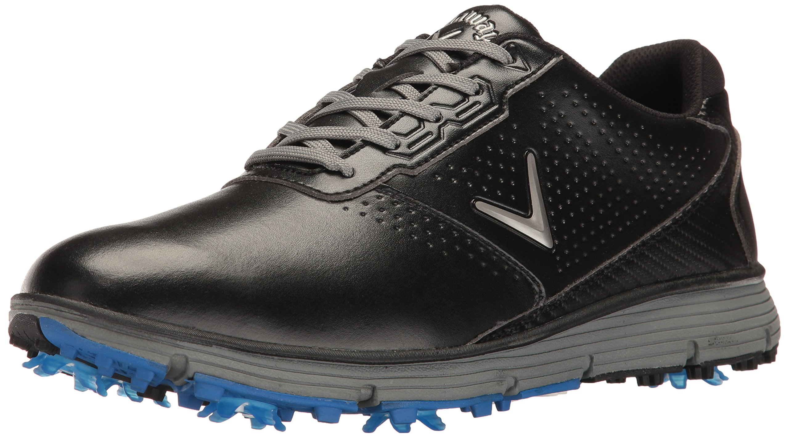 Callaway Men's Balboa TRX Golf Shoe, Black/Grey, 9 D US by Callaway