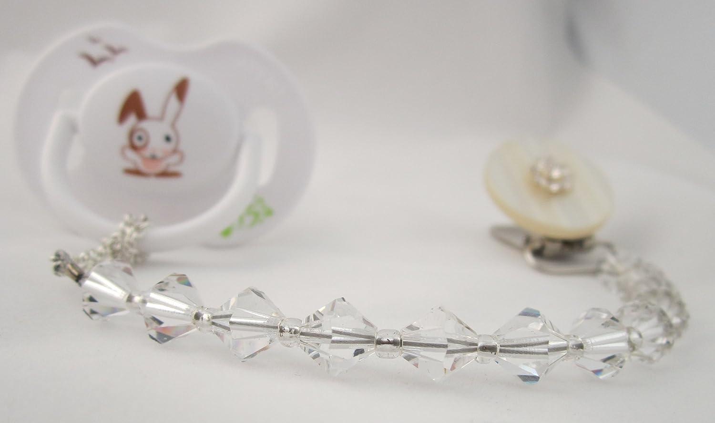 Crystal Dream Elegante cristales blancos de Swarovski con Handmade ...