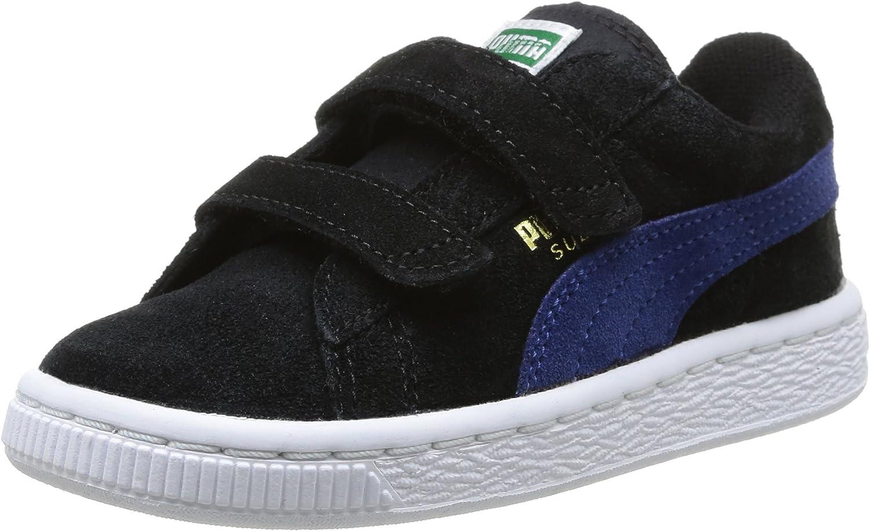 PUMA Suede Kids Sneaker mit 2 Riemen Schuhe Sportschuhe Unisex Neu