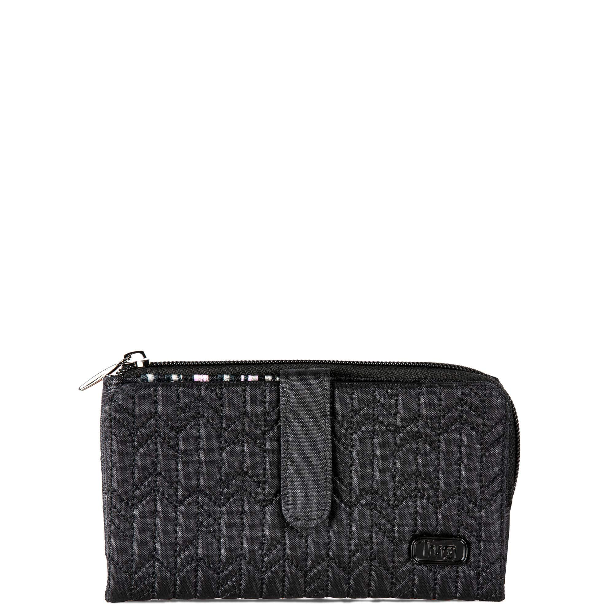 Lug Women's Tram Wallet, Shimmer Black