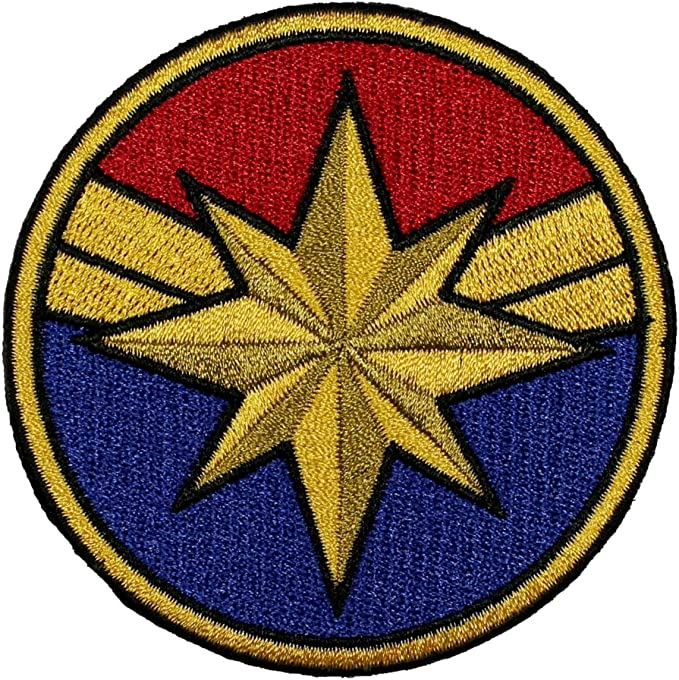Lot 2Pcs Marvel Comics Captain America Movie Embroidered Iron on Patch