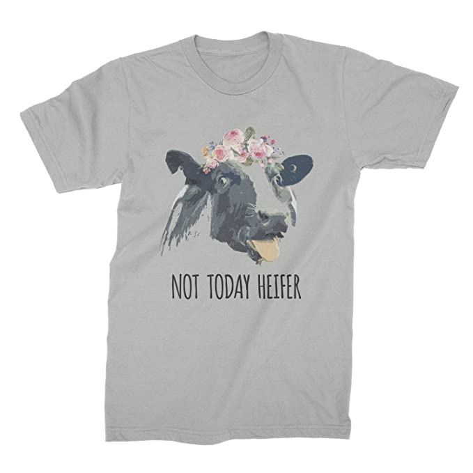 2bfd65cf Amazon.com: Not Today Heifer Shirt Funny Cow T Shirt: Clothing