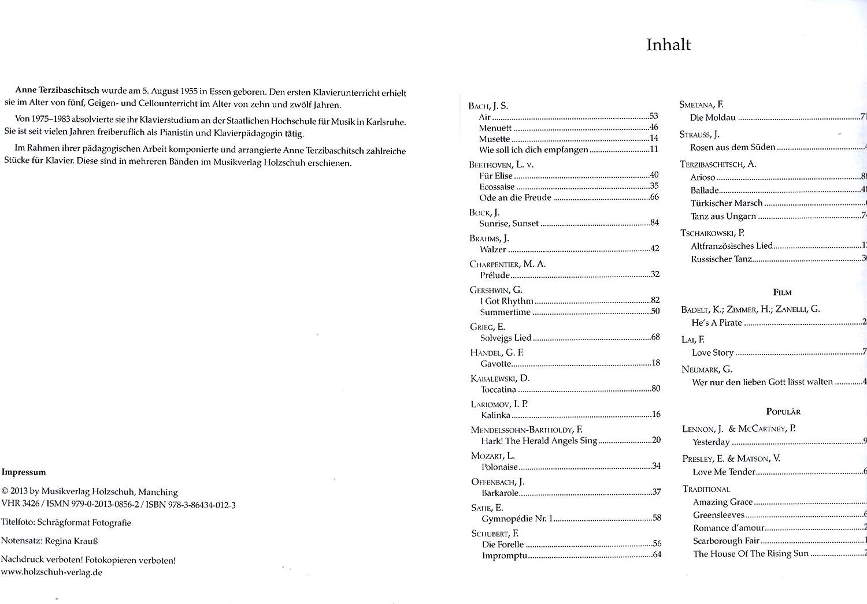 Deseos melodías – 40 bearbeitungen de Anne Terzibaschitsch para ...