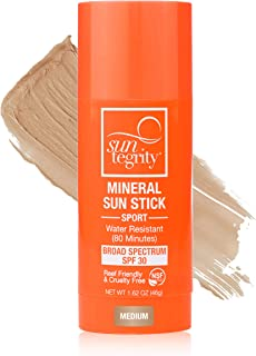 product image for Suntegrity Tinted Sport Mineral Sun Stick Broad Spectrum SPF 30 (46g) (Medium)