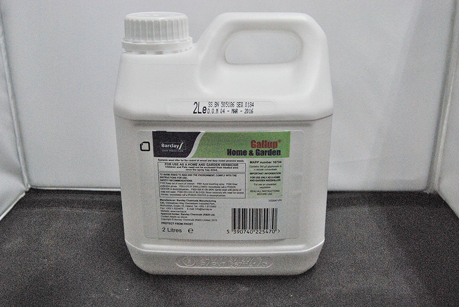 1 X2L GALLUP Non - PrOFESSIONAL USE GLYPHOSATE WEEDKILLER Home and Garden ****BRAND NEW PRODUCT ******