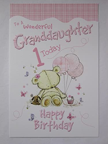 Hallmark First Birthday Card For Granddaughter, Pop Up