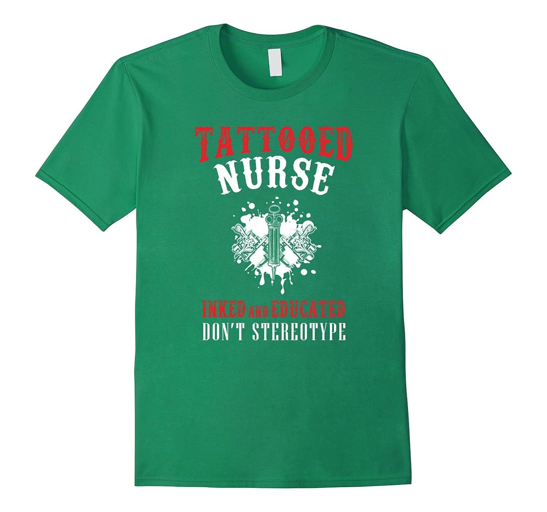 Tattooed nurse t shirt td theteejob for Tattooed nurse shirt