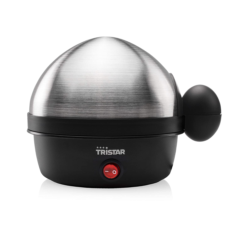 Tristar EK-3076 - Cocedor de huevos, para 7 huevos, color acero ...