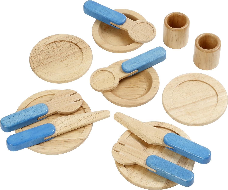 Voila - Set de vajilla de juguete (madera) S032O