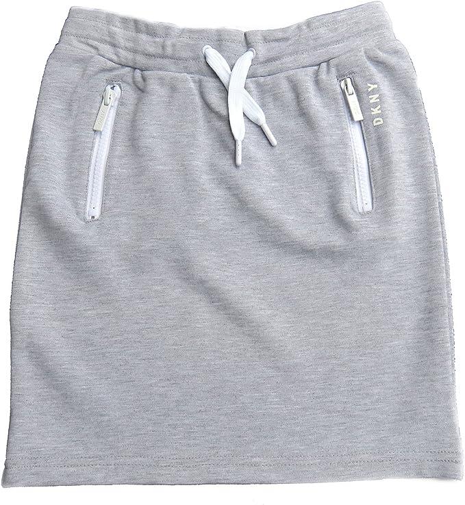 DKNY - Falda - para niña gris 122-128 cm: Amazon.es: Ropa y accesorios