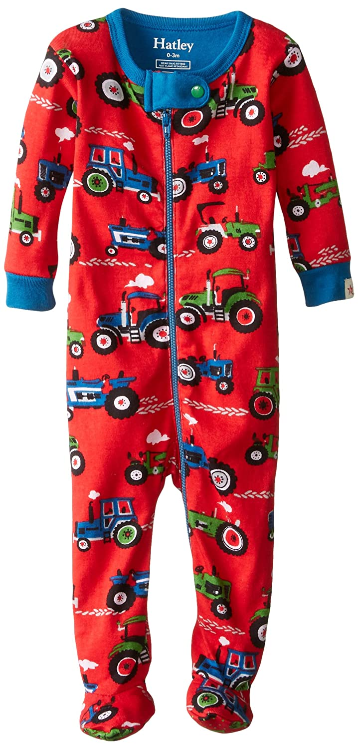 Hatley Baby Boys' Footie Red DR5FAJA010