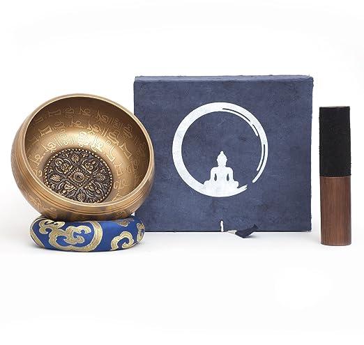22 opinioni per Campana tibetana fatto a mano in Nepal – 600g – 14cm – 5 Metalli – Batacchio di