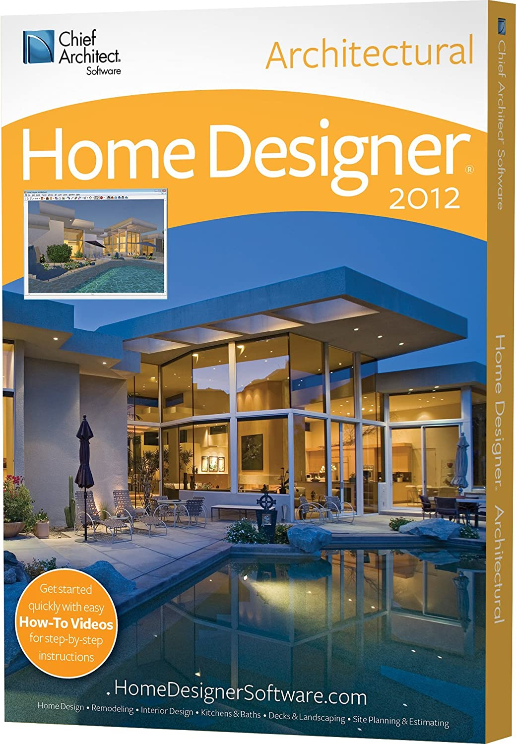 amazoncom home designer architectural 2012 download software - Architect Home Designer