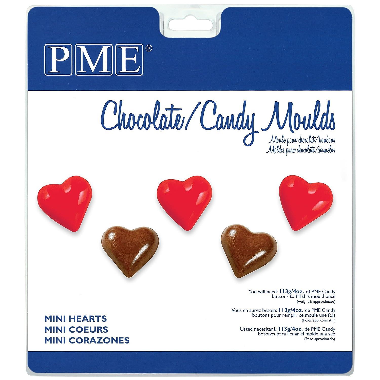 PME Molde para Bombones de Chocolate en Forma de Mini Corazones: Amazon.es: Hogar