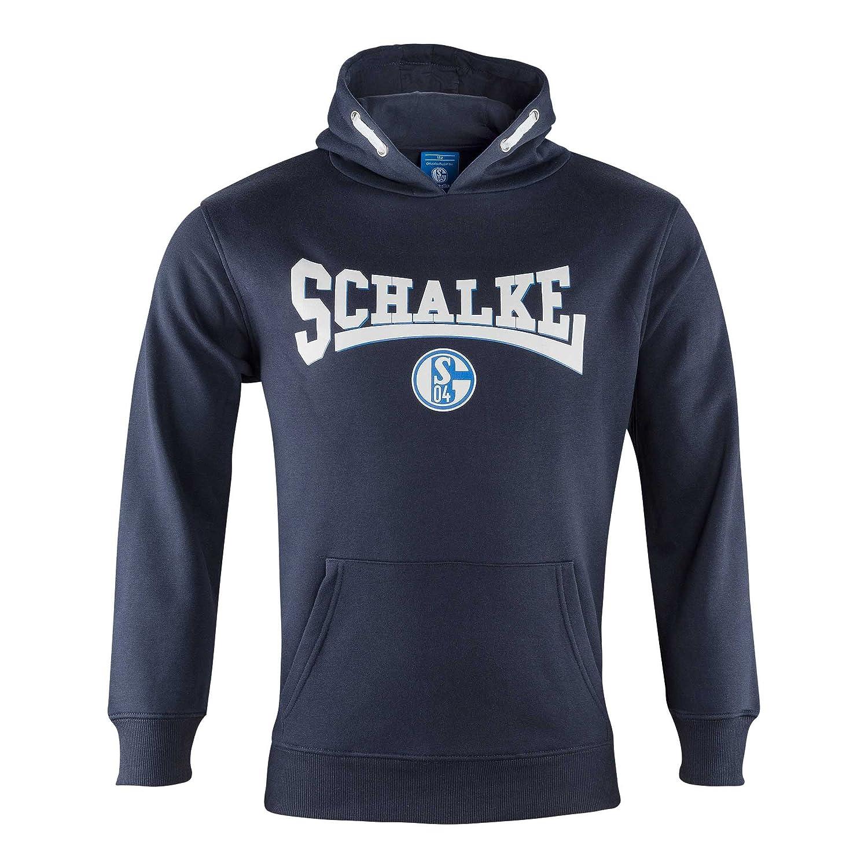 FC Schalke 04 Kapuzen Sweat-Shirt Marine