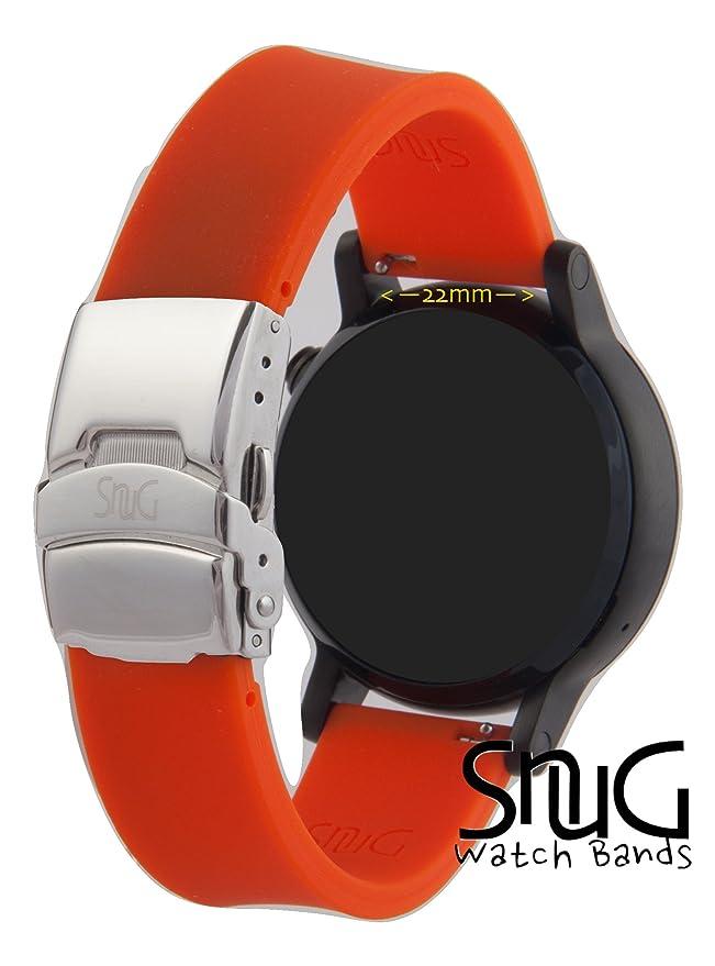 Gear S3 reloj banda, cómodo silicona cartucho de repuesto de ...
