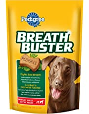 Pedigree Breathbuster Biscuit Treats for Dogs - Medium/ Large - 500g