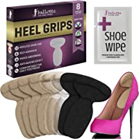 Heel Grips Shoes Too Big Gel Insoles - 2 in 1 - Extra Volume and Antisplip