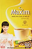 Maxim Mocha Gold Korean Instant Coffee - 100pks