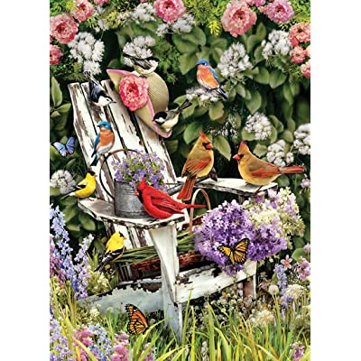 Cobblehill 80090 1000 pc Summer Adirondack Birds Puzzle, Various: Toys & Games
