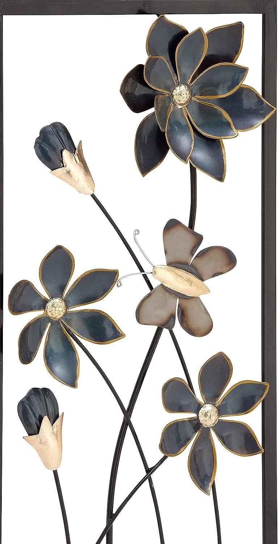 Wei/ß 12,7 x 68,6 cm Deco 79 33121 Zeitgen/össisches Capiz-Windspiel