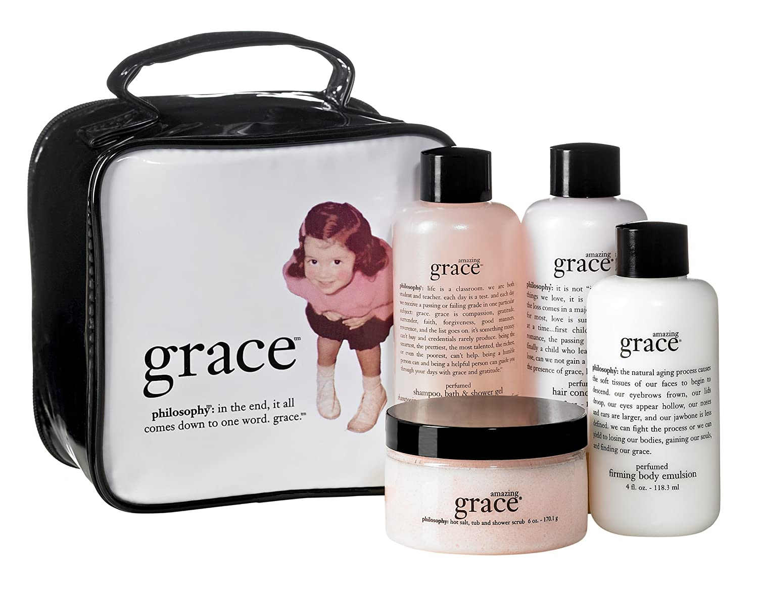 Amazon.com : Philosophy Grace Gift Set (4-Piece) : Fragrance Sets ...