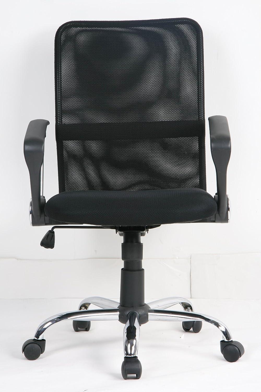 EUROSILLA Columbia - Silla de Escritorio, 92 x 56 x 60 cm, Color Negro