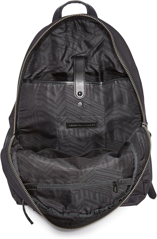 Black One Size Rebecca Minkoff Womens Always On MAB Backpack