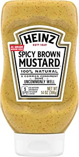 product image for Heinz Spicy Brown Mustard (14 oz Bottles, Pack of 6)