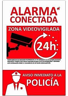 Carteles Alarmas Zonas Videovigilada ✓️Placas ...