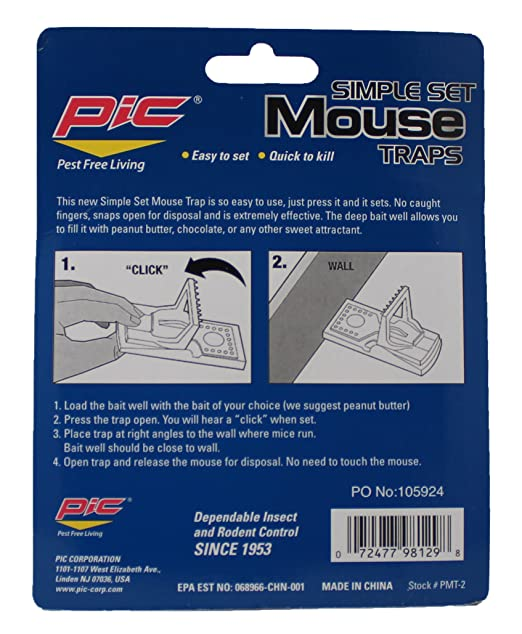 What is a well rated mouse trap?