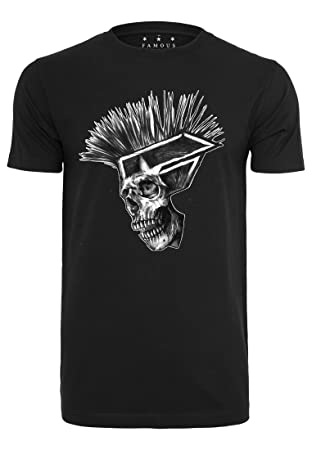 Famous Stars And Straps Hombre Punks Not Dead Tee – Camiseta, hombre, Punks not Dead Tee, negro, large