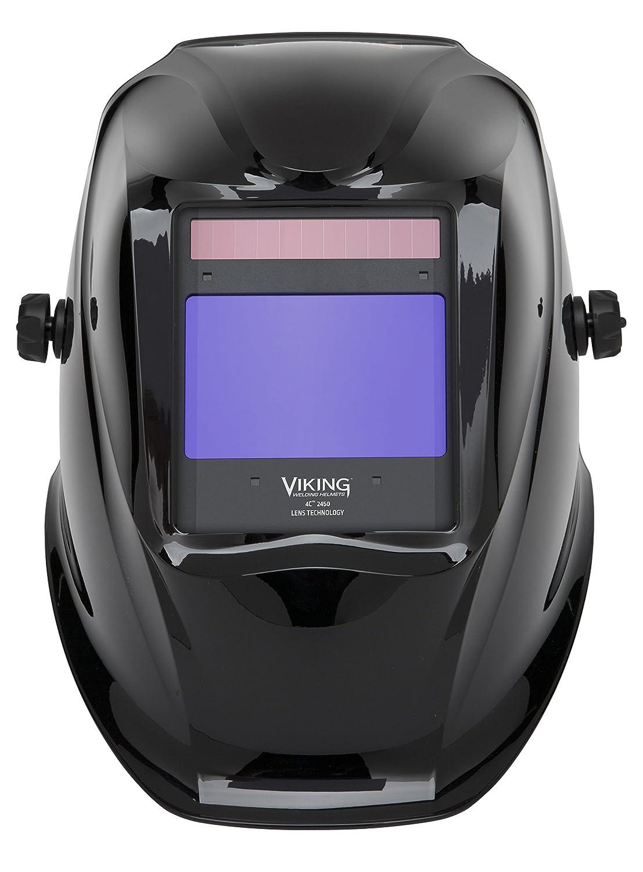 Lincoln eléctrica Viking 2450 negro casco de soldadura con tecnología de la lente de 4 C - k3028 - 3: Amazon.es: Bricolaje y herramientas
