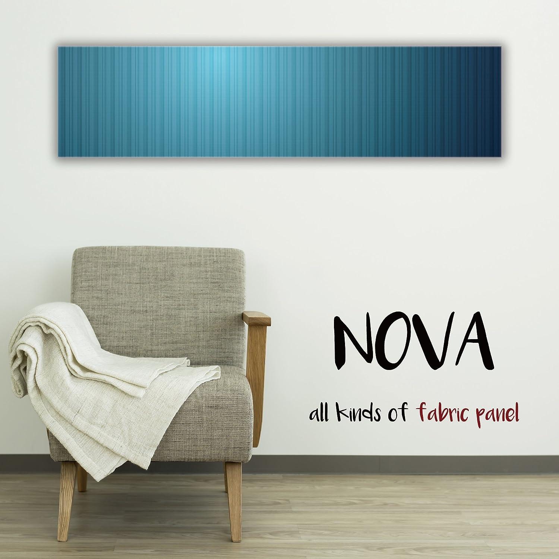 ファブリックパネル NOVA 【 L-Lサイズ 30cm×120cm 】 海 ブルー sea 青い 青色 深海 水 ウォーター 空 雲 フレーム 人気 壁掛け DIY インテリア オシャレ 木製 布 生地 プリント ウォール デコ B01N9ODXB0 L-Lサイズ : 30cm×120cm|COLOR2 COLOR2 L-Lサイズ : 30cm×120cm