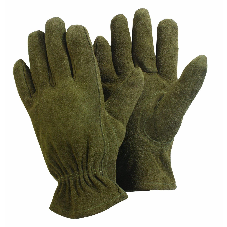 Qualcast mens gloves - Briers Large Washable Gardener Glove Olive