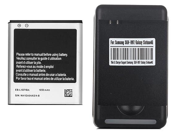 Amazon.com: 1 X 1850mAh Li-ion Bateria de repuesto + USB ...