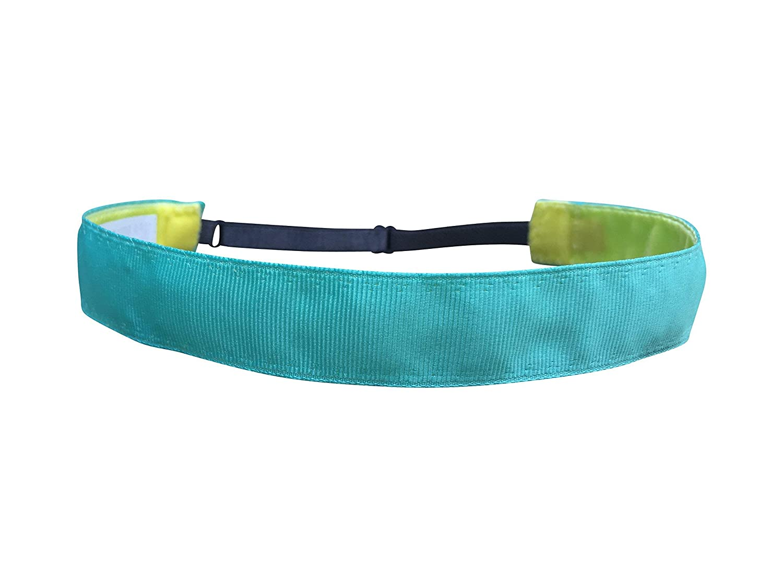 BEACHGIRL Bands Headband Adjustable Non Slip Sports Hair Band For Women & Girls Aqua Blue
