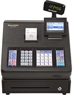 Amazon sharp xea507 bar code scanning and dual receipt cash sharp xea207 menu based control system cash register fandeluxe Image collections