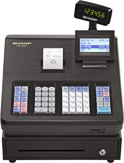 amazon com sharp xea507 bar code scanning and dual receipt cash rh amazon com Royal Alpha 9155Sc Cash Register User Guide Casio Cash Register Manual