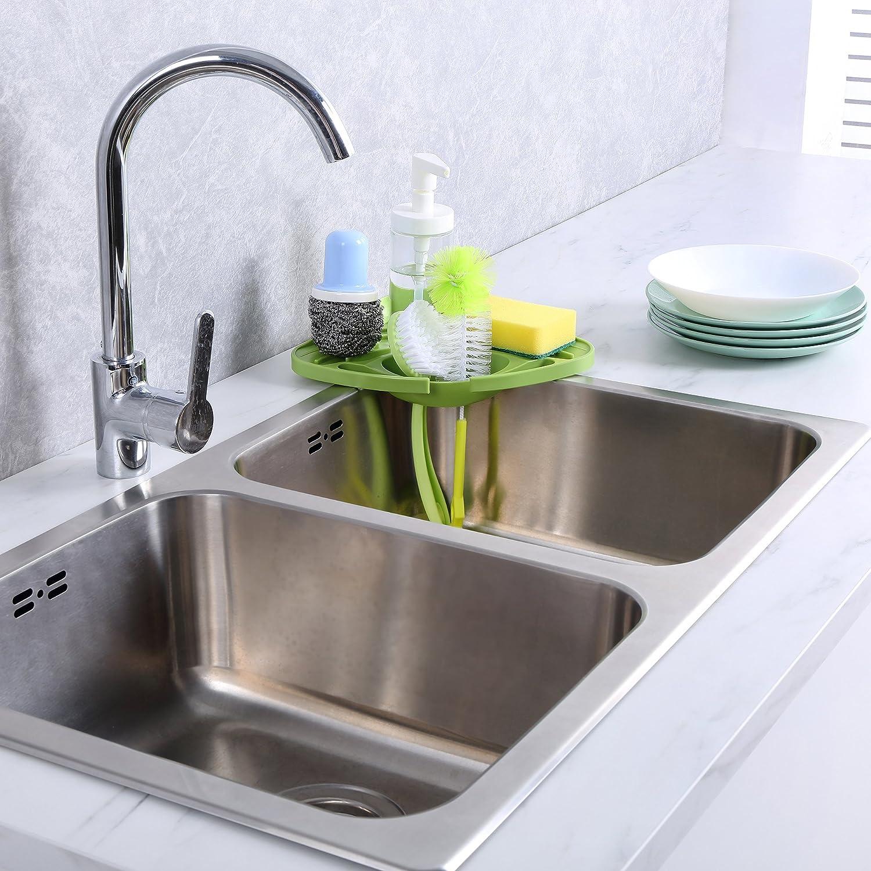Amazon Kitchen sink caddy sponge holder scratcher holder