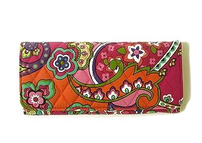 7bbddb790521 (ヴェラ・ブラッドリー) 財布 Trifold トリフォールドウォレット(Pink Swirls) VB