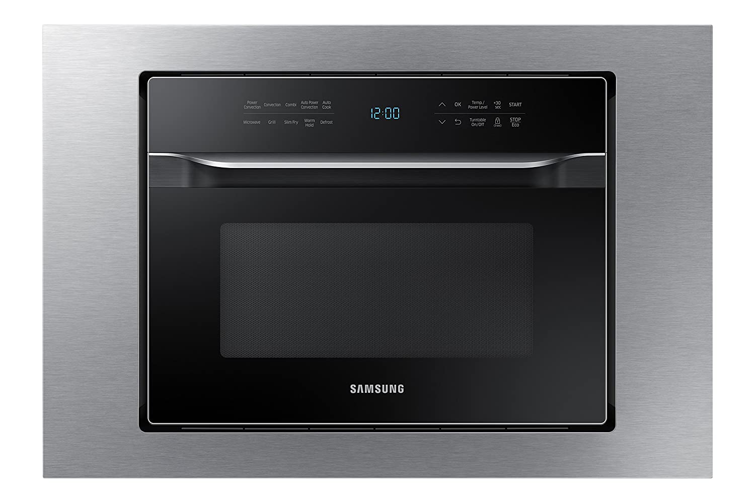 "Samsung MA-TK3080CT 30"" Trim Kit for MC12J8035CT Counter Top Convection Microwave, Stainless Steel"