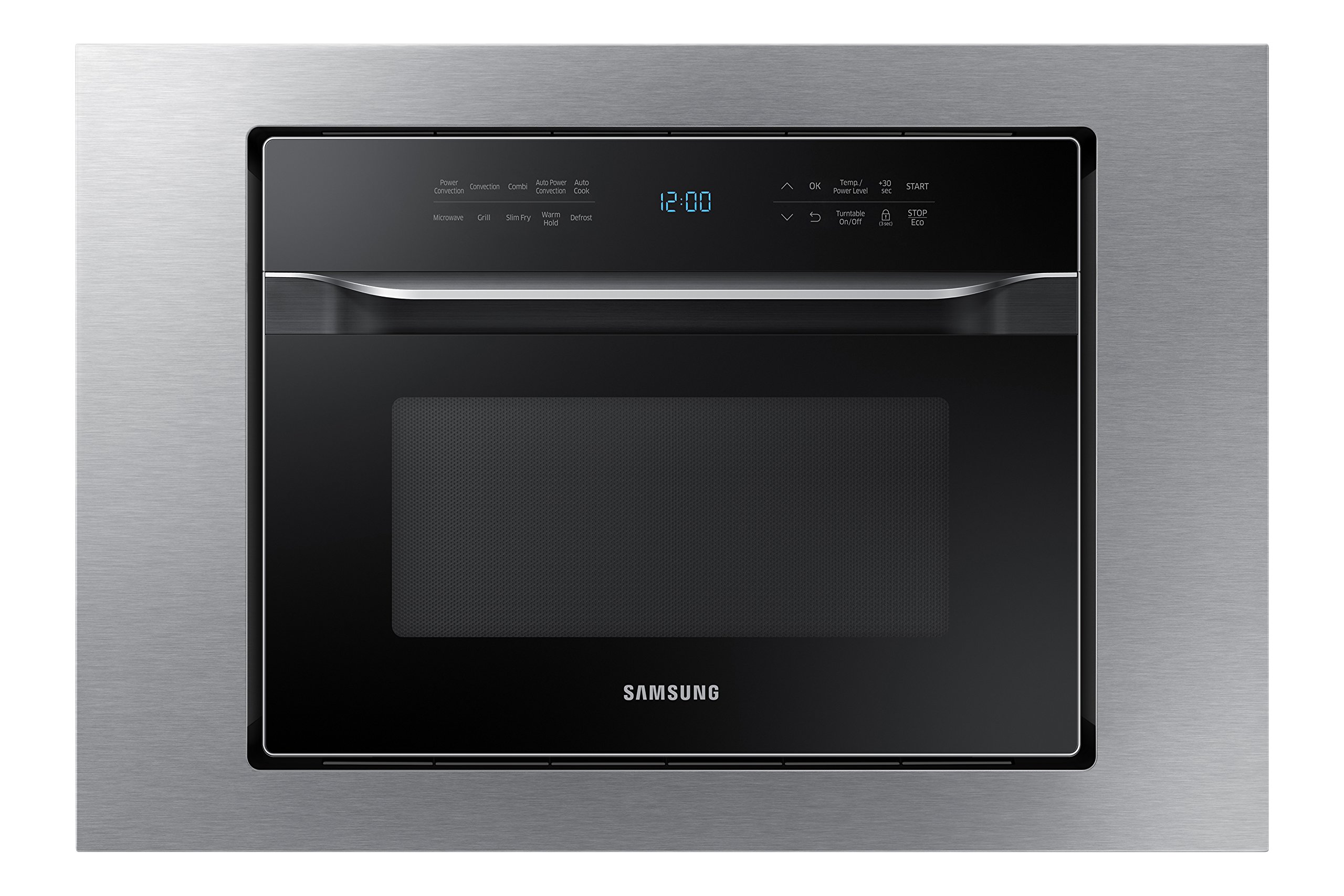 Samsung MA-TK3080CT 30'' Trim Kit for MC12J8035CT Counter Top Convection Microwave, Stainless Steel