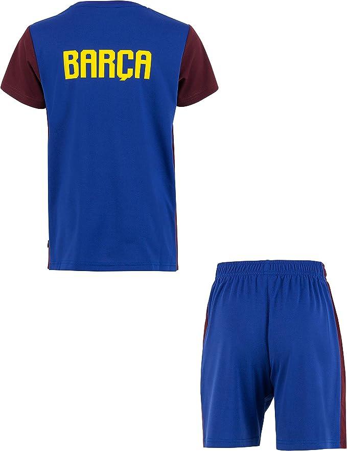 Fc Barcelone - Juego Oficial de Camiseta y Pantalones Cortos para ...