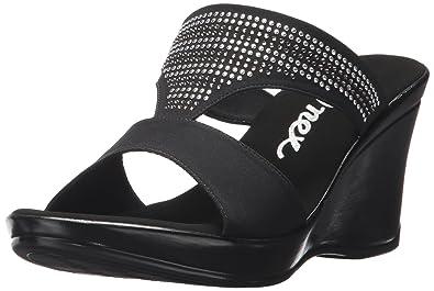 45f6166e647 Onex Women s Gabi Wedge Sandal Black 5 ...