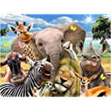 Howard Robinson HR18729 Selfies Zoo Super 3D Collectable Postcard