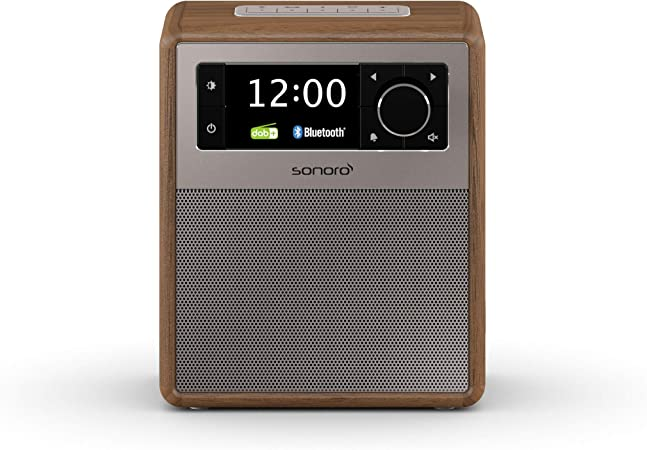 Sonoro Easy Dab Radio Mit Bluetooth Walnuss 2020 Elektronik