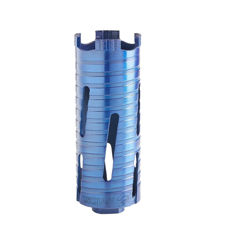 Dry Diamond Core Drill Bit Plumbers/Builders Premium Turbo Segment Hole Cutter, 65mm x 150mm DTW